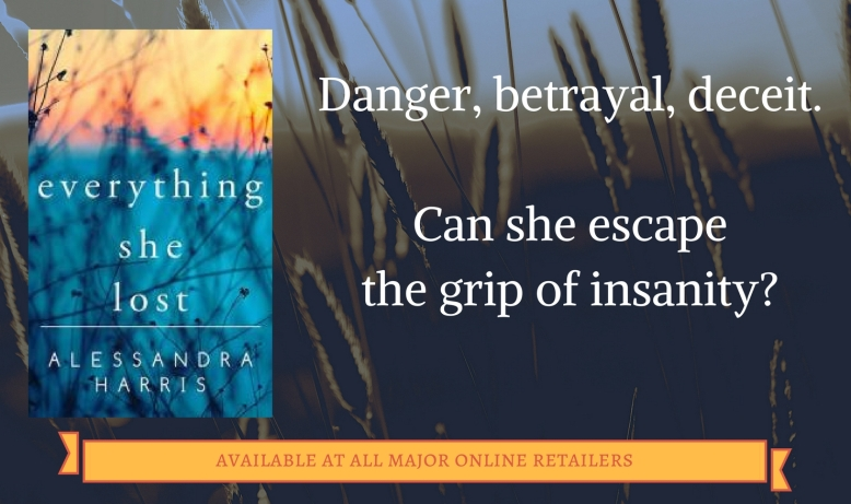 Danger, betrayal, deceit.Can she escape the grip of insanity_